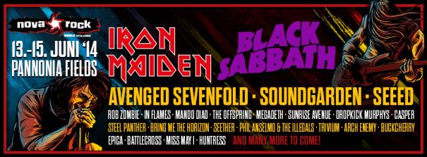 Nova Rock 2014 Metal Festival