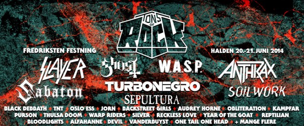 Tons of Rock Festival 2014 Norway