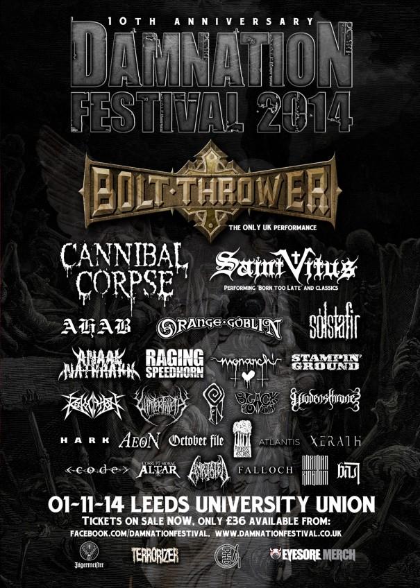 Damnation Fest 2014