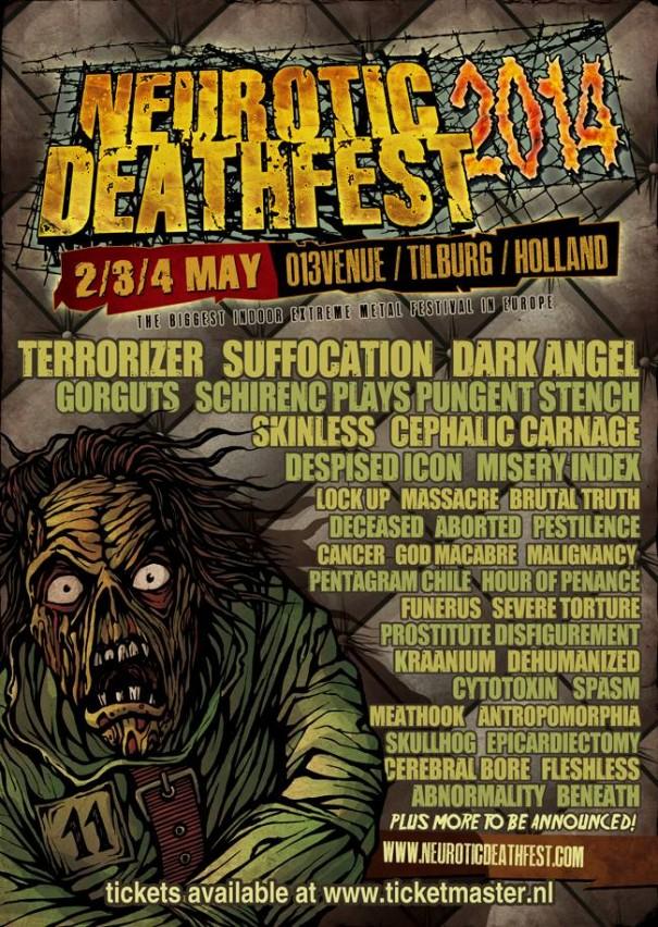 Neurotic Deathfest 2014
