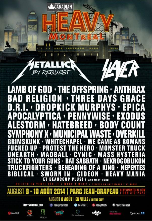Heavy Montréal Metal Festival 2014