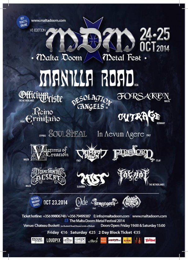 Malta Doom Metal Festival - All Metal Festivals