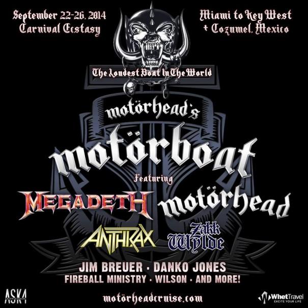 Motörhead's MotörBoat 2014