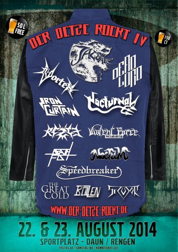 Der Detze rockt - Metal Open Air 2014