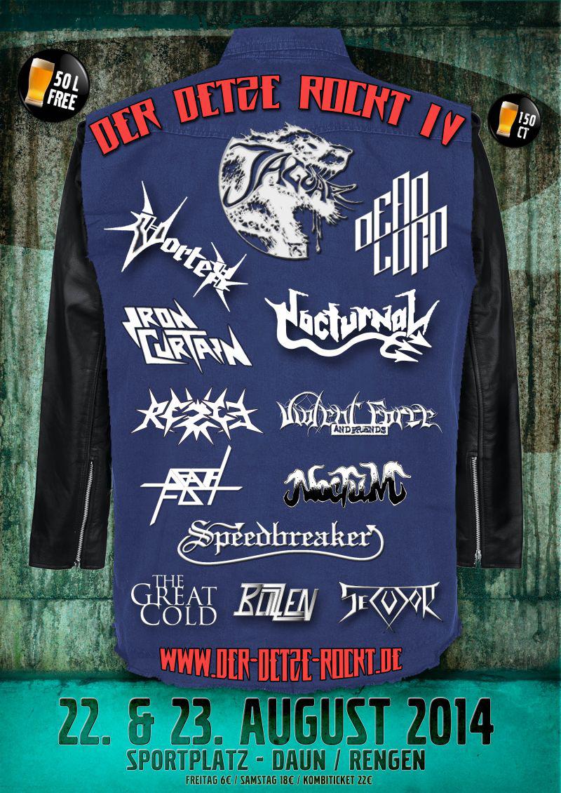 Der Detze rockt – Metal Open Air