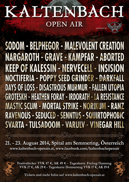 Kaltenbach Open Air 2014