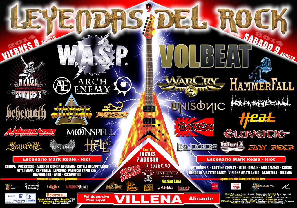Leyendas Del Rock Festival 2014