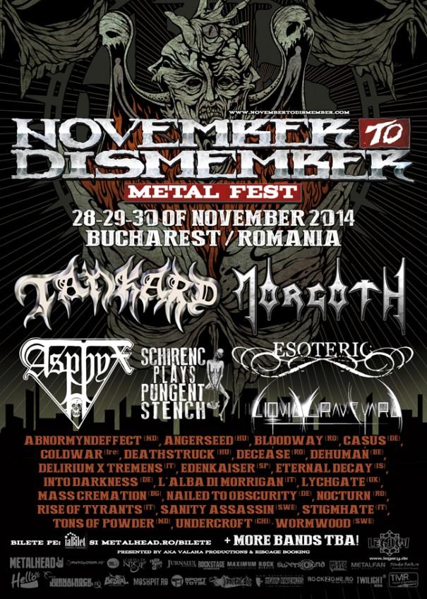 November To Dismember 2014