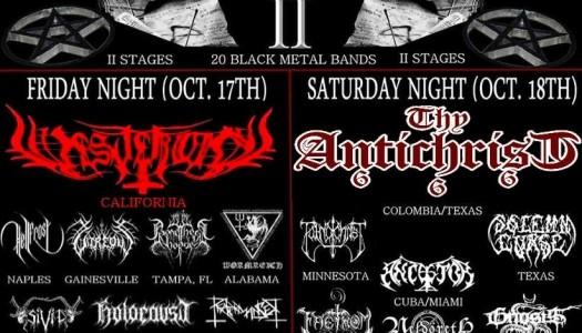 Black Kvlt Fest 2: Florida's Black Metal Festival 2014