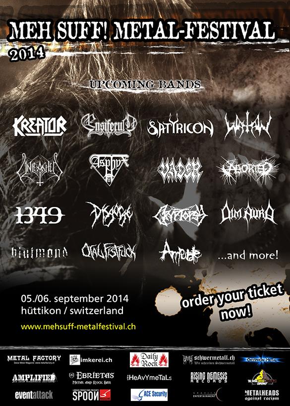 Meh Suff! Metal-Festival 2014