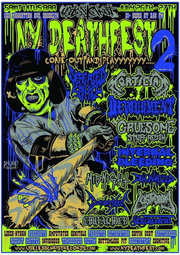 NY Deathfest 2014