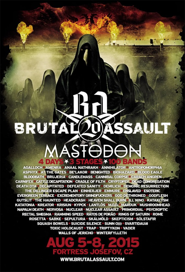 Brutal Assault Metal Festival 2015