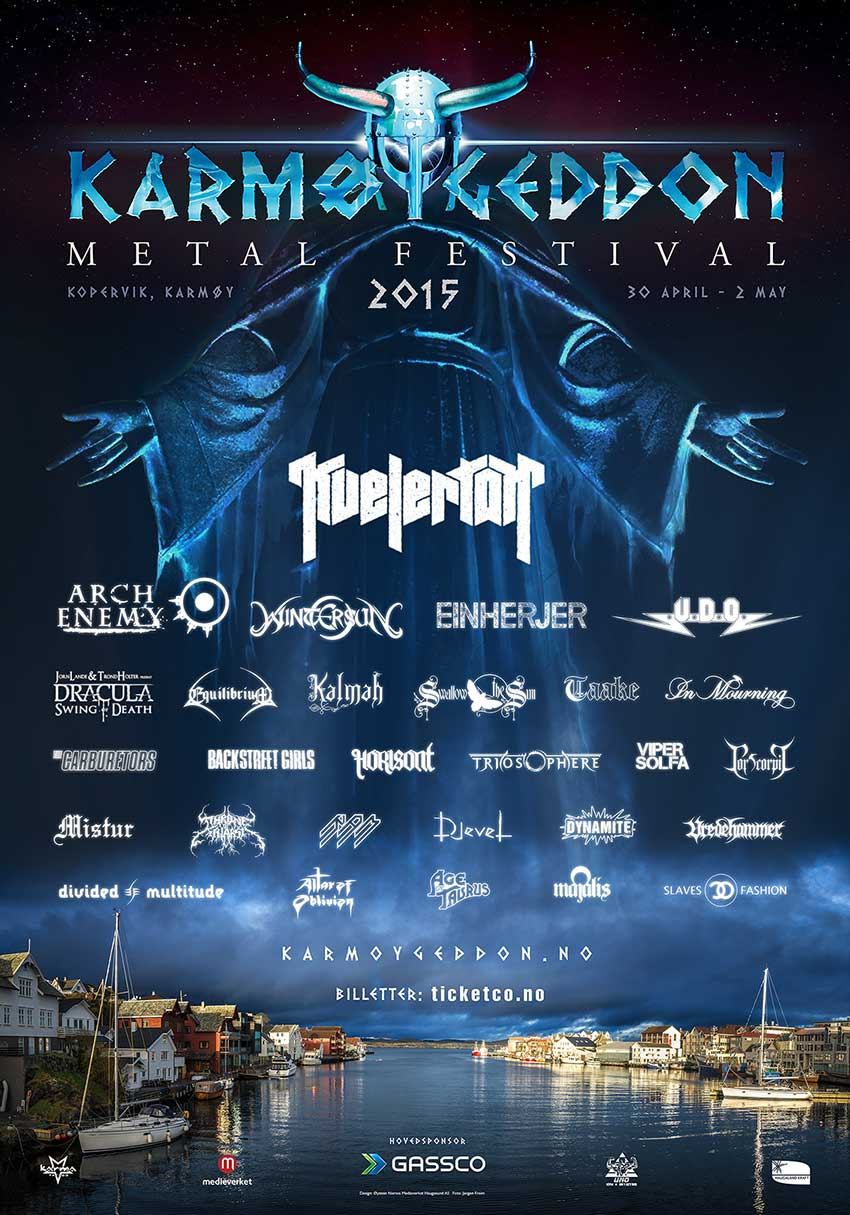 Karmøygeddon Metal Festival 2015