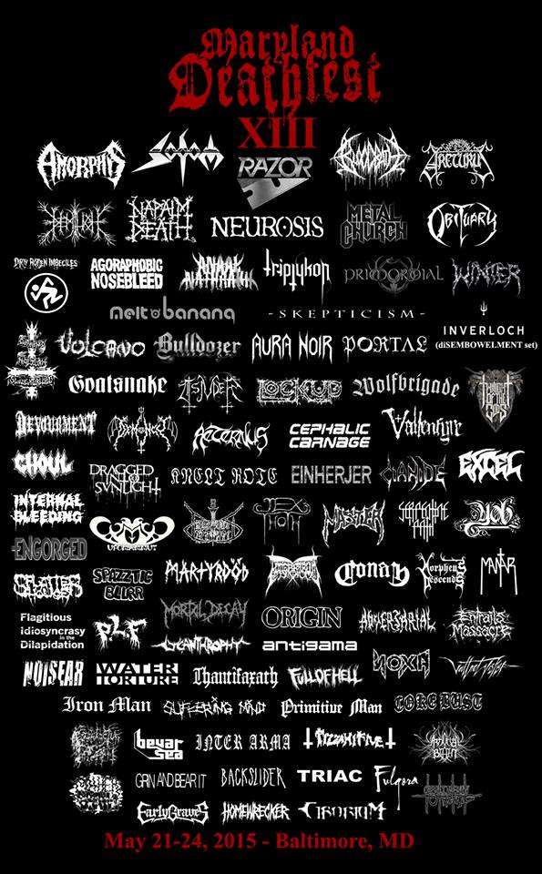 Maryland Deathfest XIII