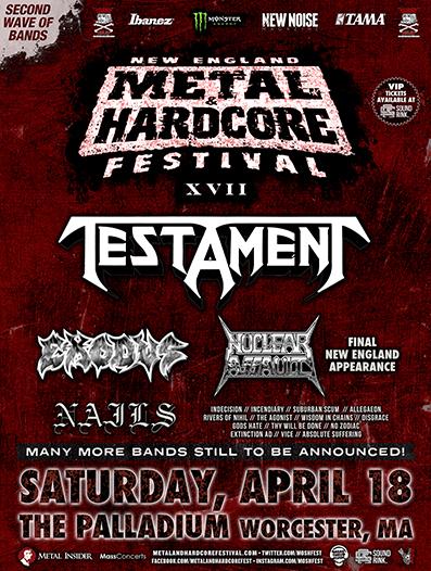 New England Metal & Hardcore Festival XVII