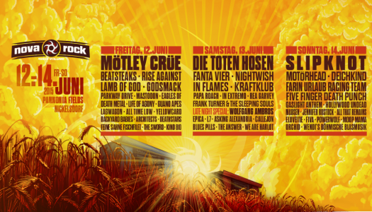 Parkway Drive, Mastodon, Guano Apes Confirmed for Nova Rock 2015