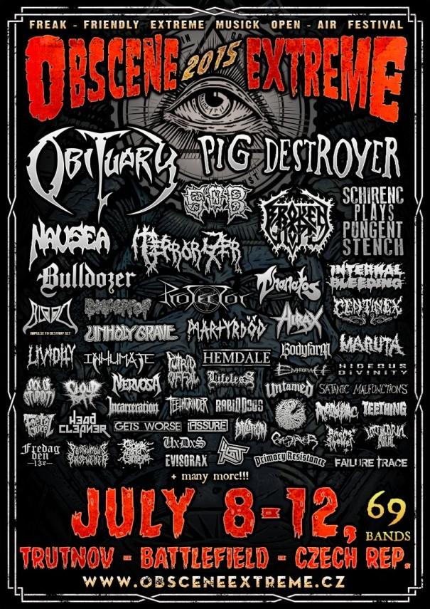 Obscene Extreme Festival 2015 2