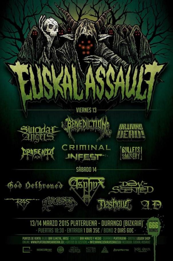 Euskal Assault 2015 Lineup
