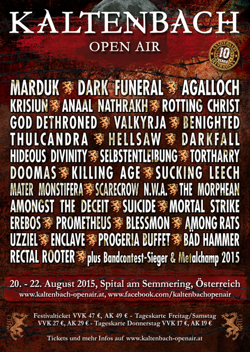 Kaltenbach Open Air 2015