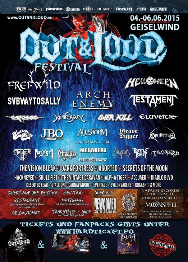 Out & Loud Festival 2015