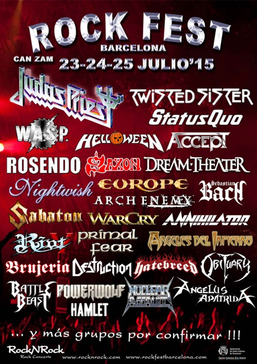 Rock Fest Barcelona 2015