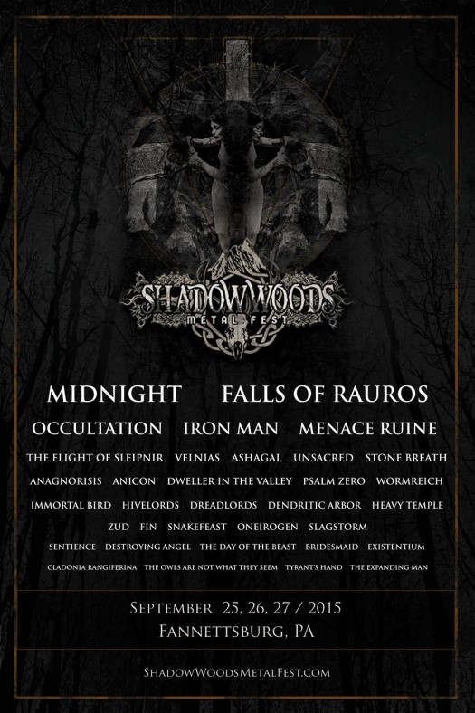 Shadow Woods Metal Fest 2015