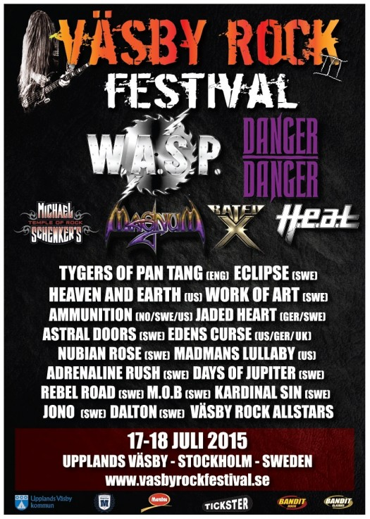 Väsby Rock Festival 2015