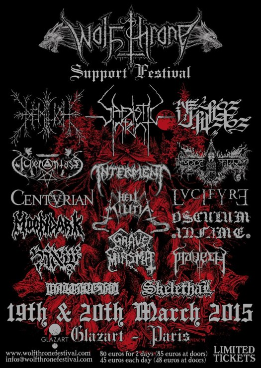 Wolf Throne Support Festival 2015