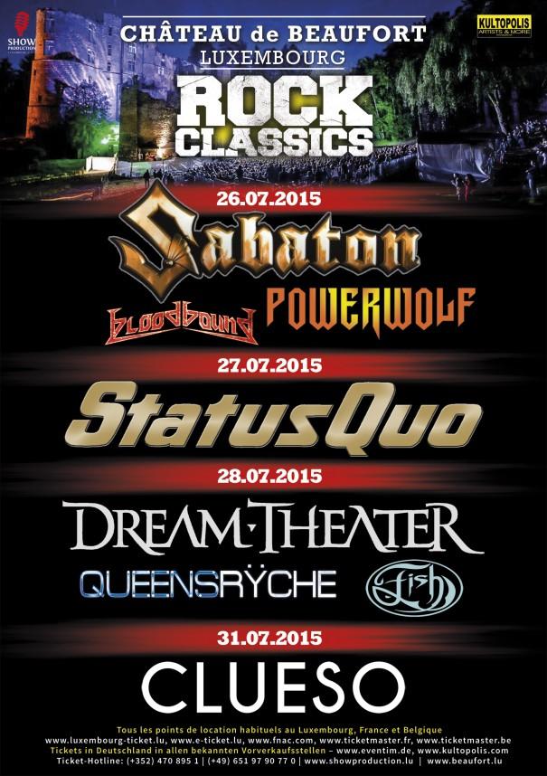 Rock Classics 2015