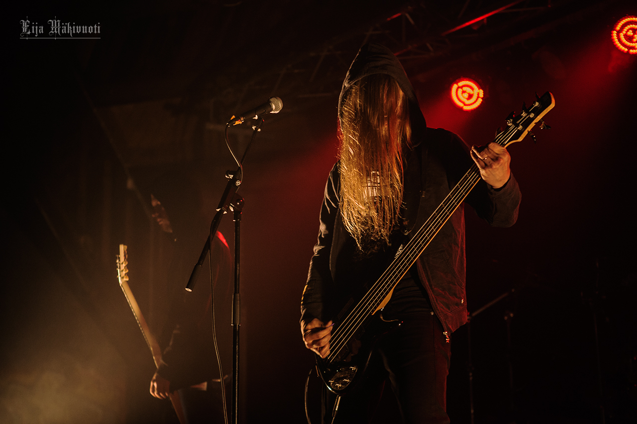 Hooded Menace Live at Jalometalli 2015