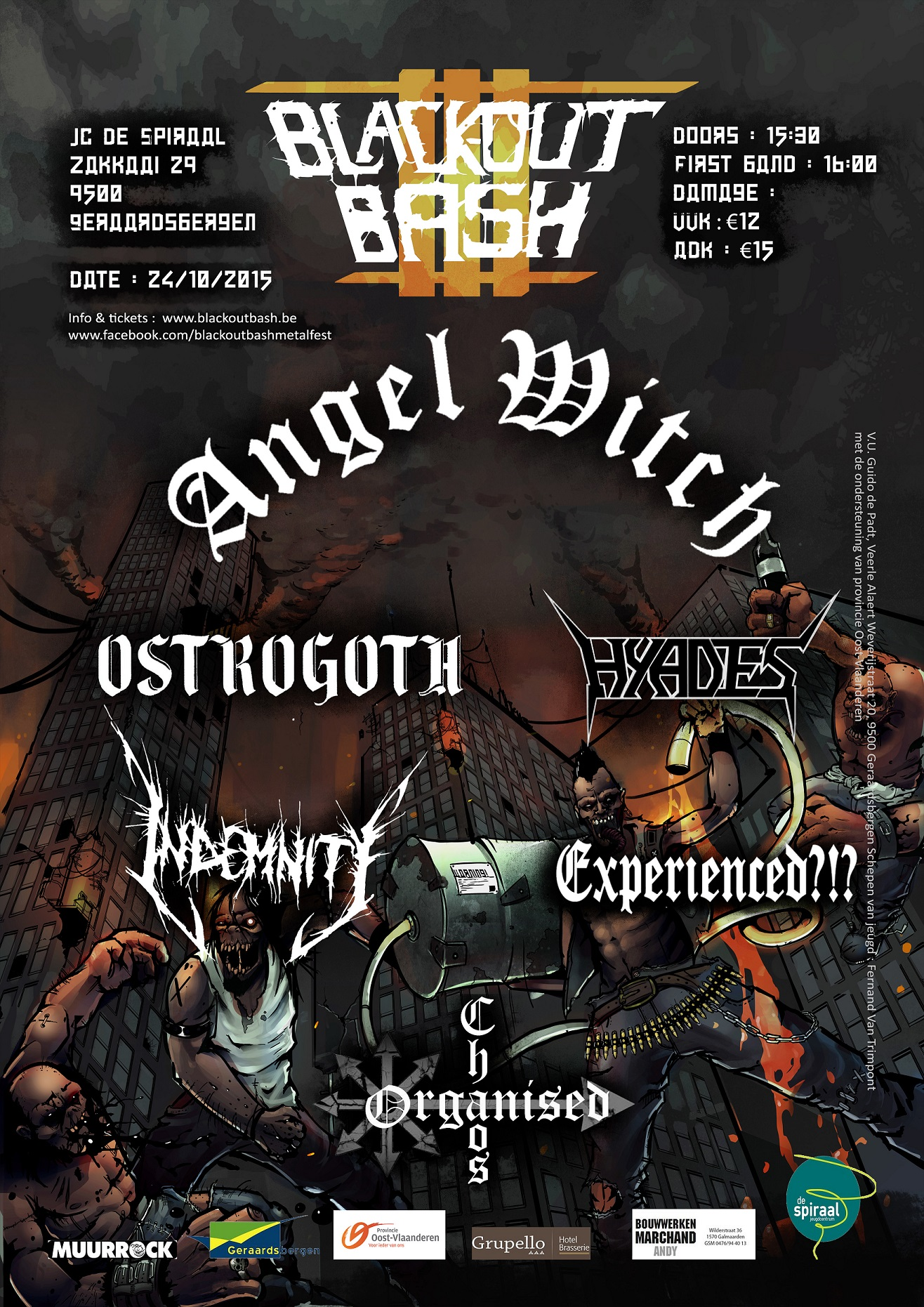 Black-Out Bash III Metal Festival