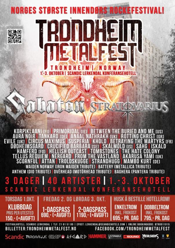 Trondheim Metal Fest 2015