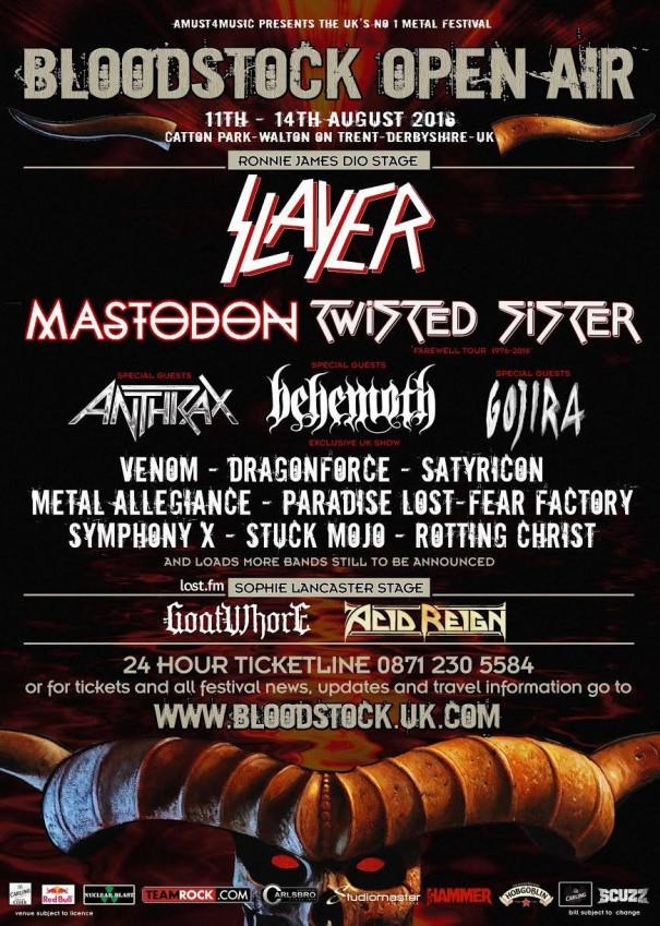 Bloodstock Open Air 2016