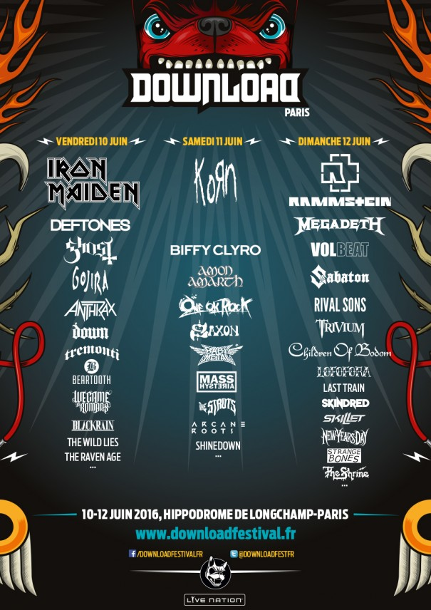 download festival paris 2016 download festival paris 2016 will take