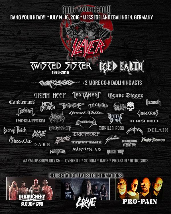 Bang Your Head!!! 2016 Lineup 1