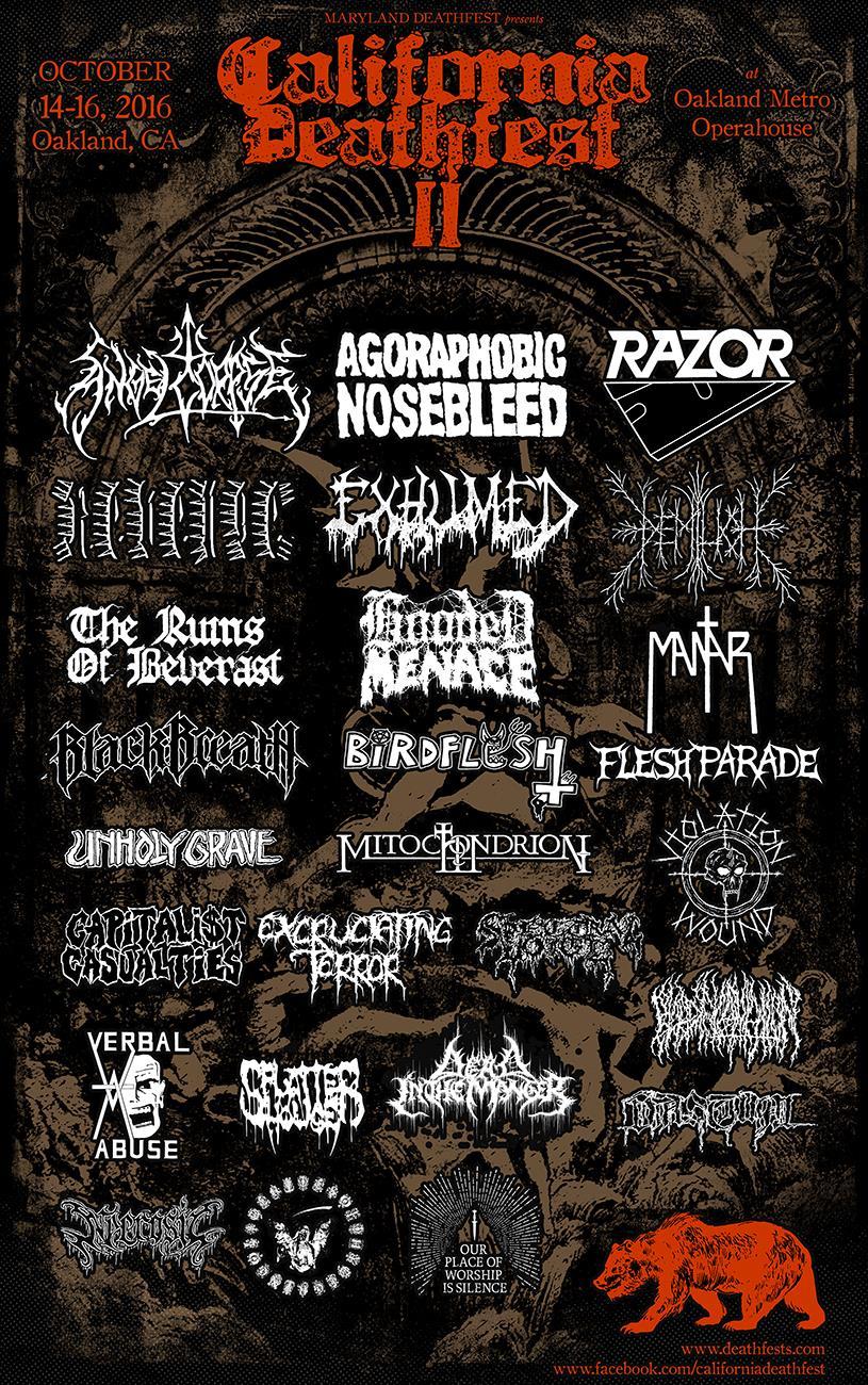 California Deathfest 2016