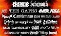 Gefle Metal Festival 2016 Lineup