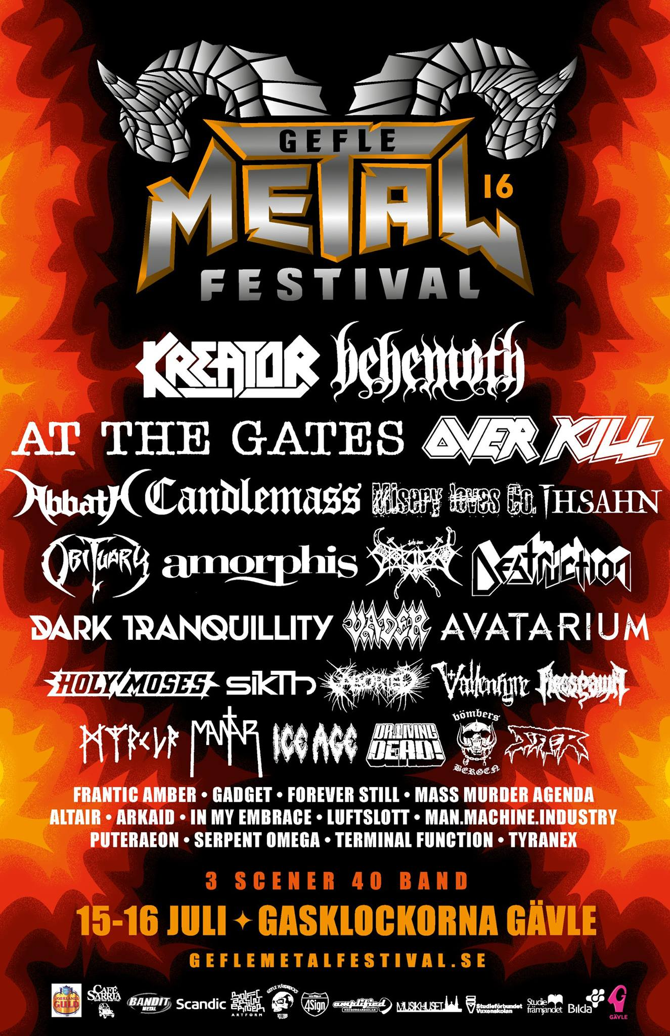 Gefle Metal Festival 2016  All Metal Festivals