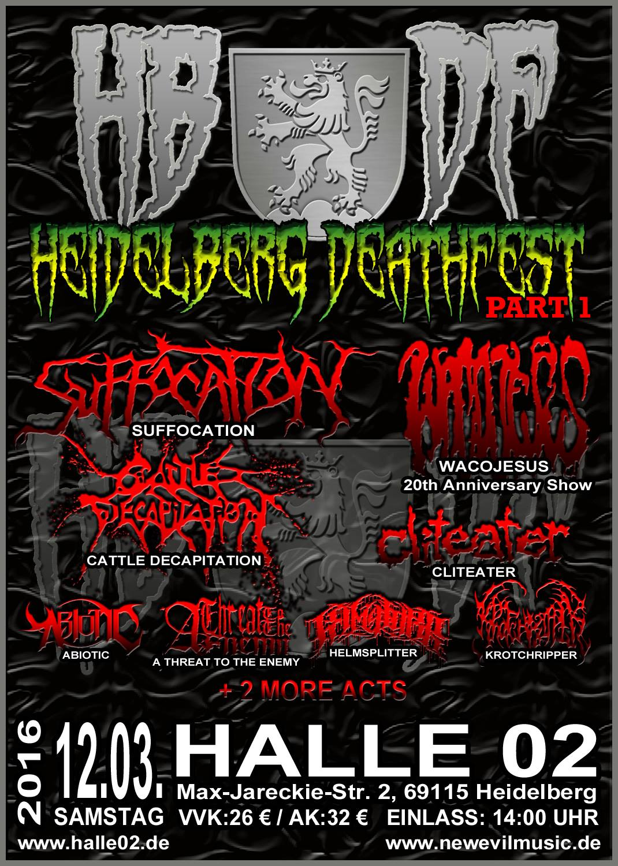 Heidelberg Deathfest 2016