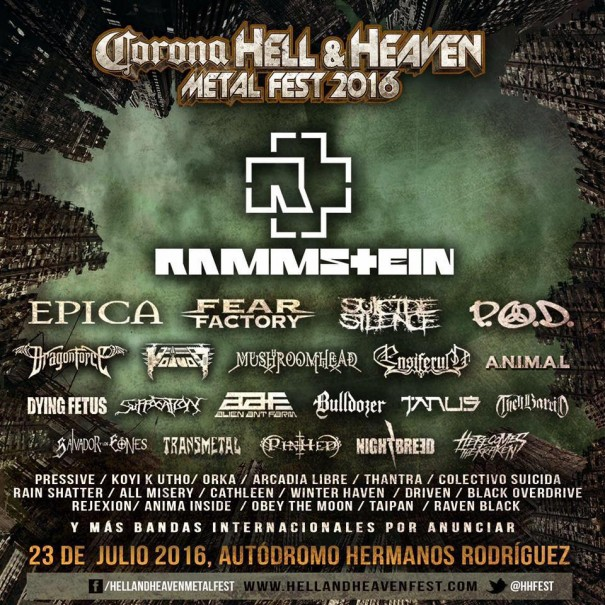 Hell and Heaven Metal Fest 2016