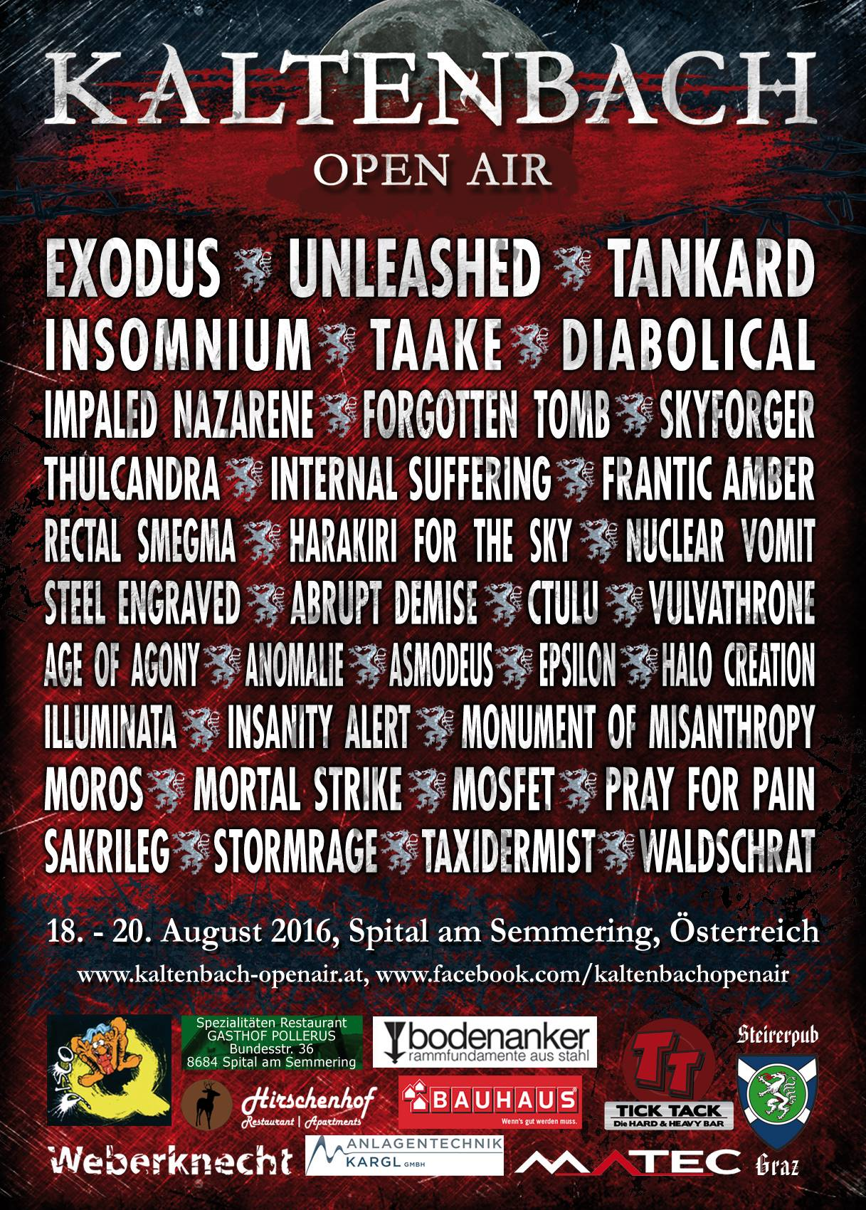 Kaltenbach Open Air 2016