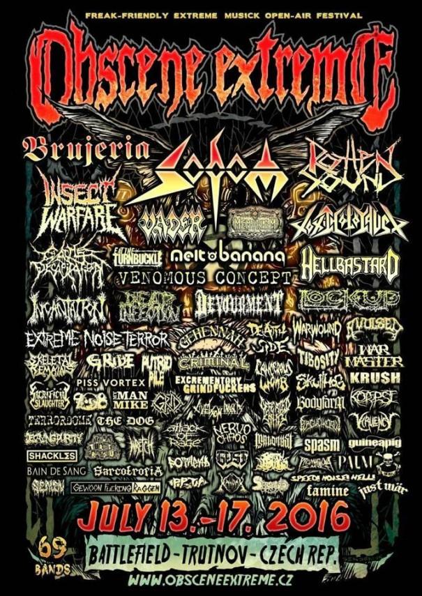 Obscene Extreme Festival 2016 1