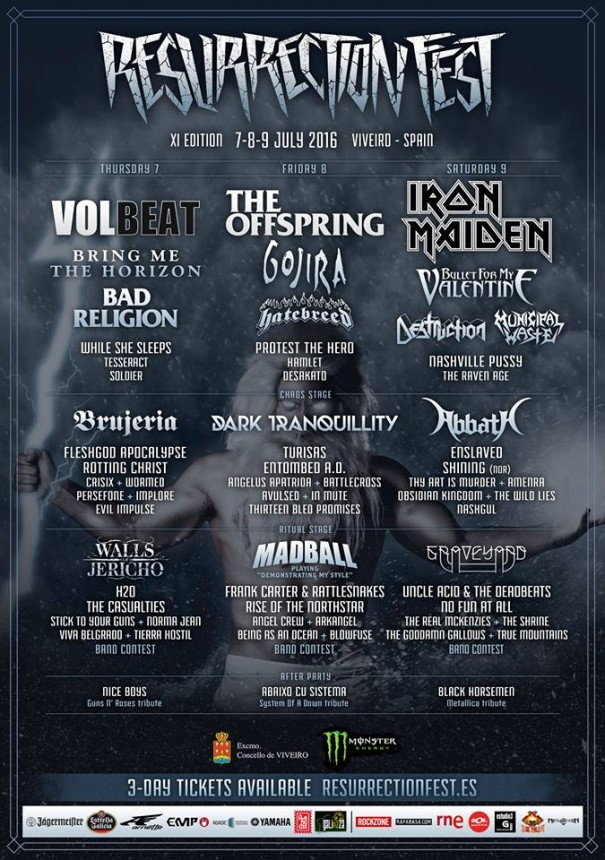 Resurrection Fest 2016 1