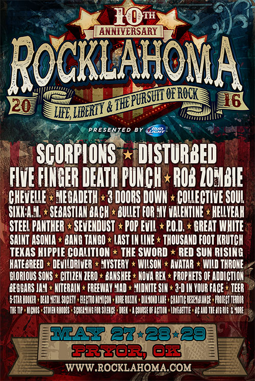 Rocklahoma Festival 2016