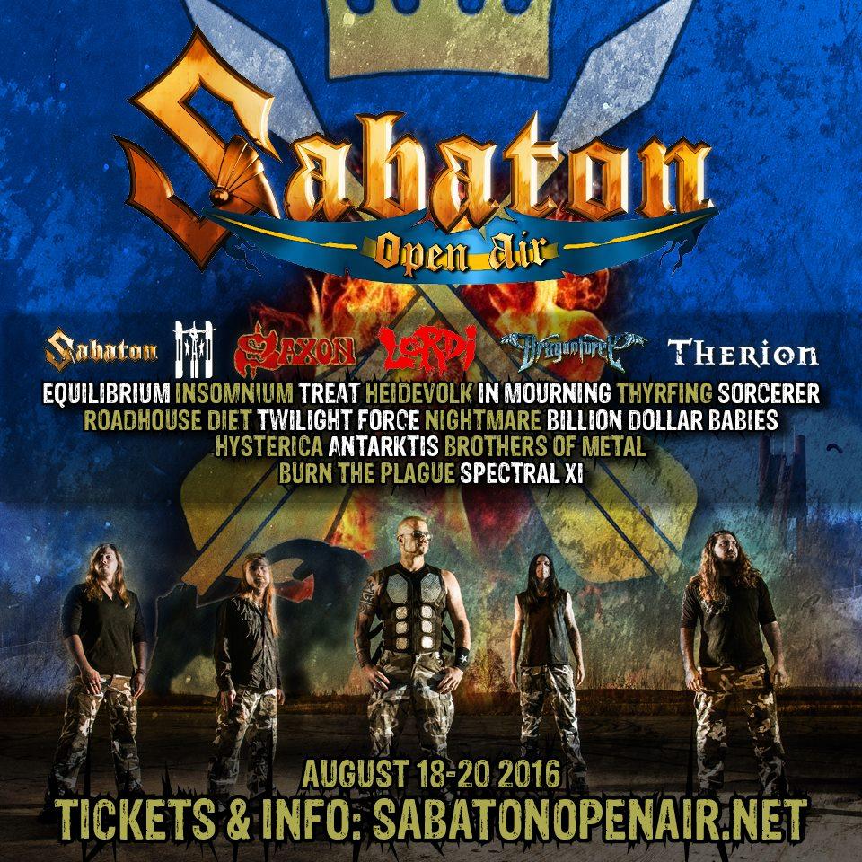 Sabaton Open Air 2016 1