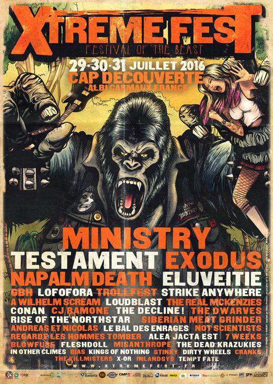 Xtreme Fest 2016