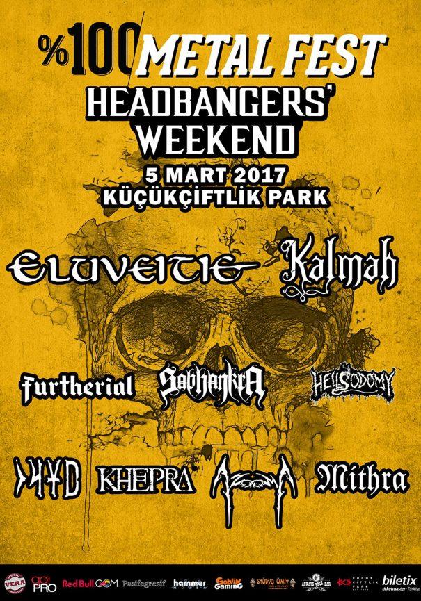 % 100 Metal Fest 2017