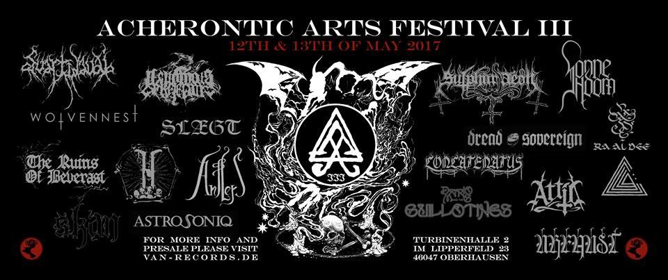 Acherontic Arts Festival III