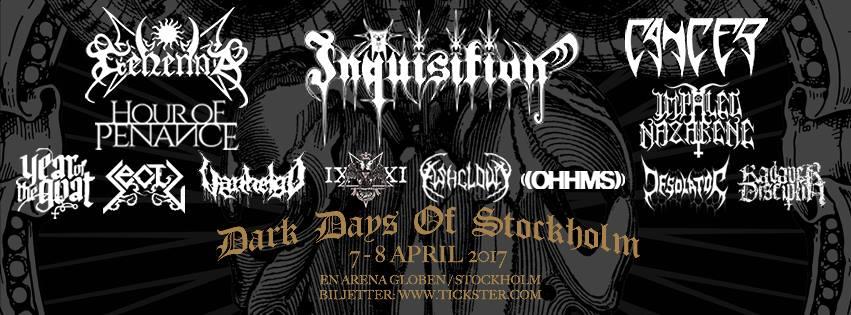 Dark Days Of Stockholm 2017