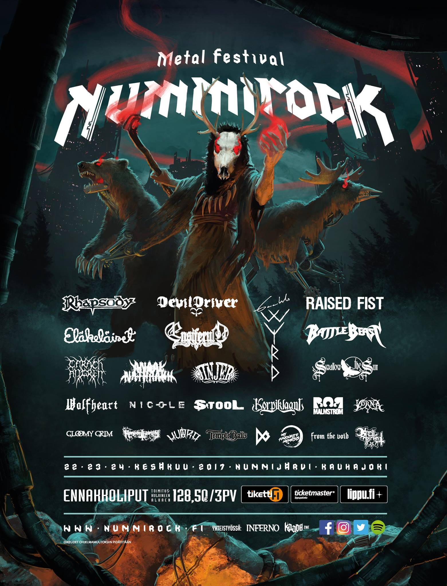 Nummirock 2017